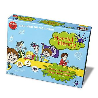 Horrid Henry's Favourite Things Board Game Age 4+ for 2-4 Players