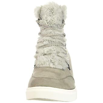 Madden Girl Women's Pulley Ankle Boot Grey Fabric 10 M US