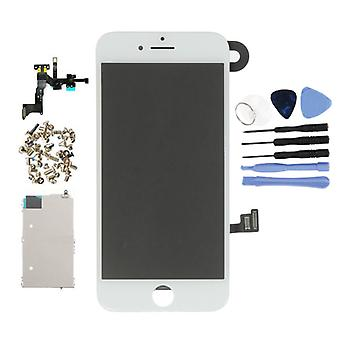 Stuff Certified® iPhone 8 Pre-assembled Screen (Touchscreen + LCD + Parts) AA + Quality - White + Tools