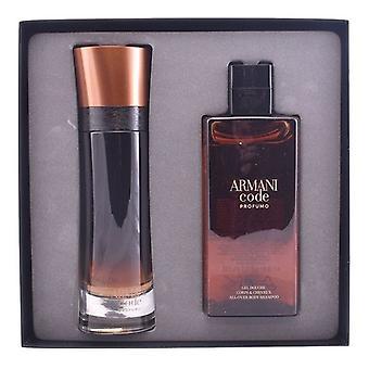 Men's Parfüm Seti Kodu Profumo Armani (2 adet)