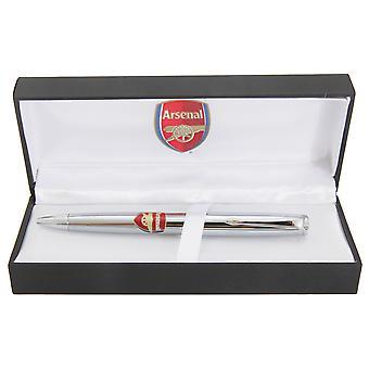Arsenal FC Chrome ufficiale calcio Crest penna a sfera