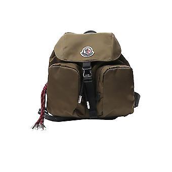Moncler 5a70102sa9827 Women's Green Nylon Backpack