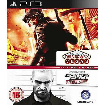 Splinter Cell Double Agent i Rainbow 6 Vegas PS3 gra
