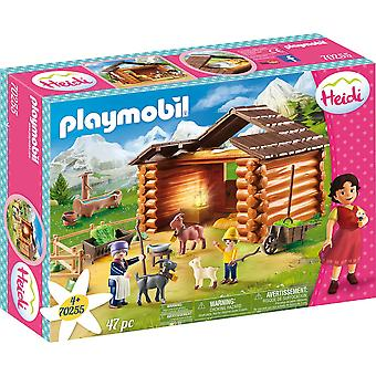 Playmobil 70255 Peter's Goat Stable Heidi 47PC Playset