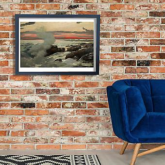 Winslow Homer - West Point Prouts Neck Poster Print Giclee