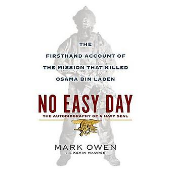 No Easy Day - An Autobiography of a Navy Seal (large type edition) by