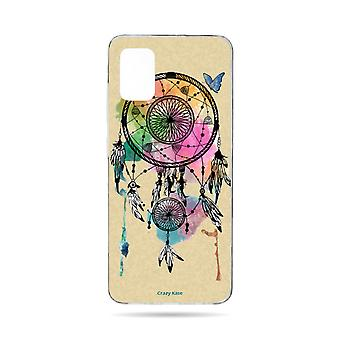 Hull For Samsung Galaxy A71 Flexible Catchs Dream And Butterfly