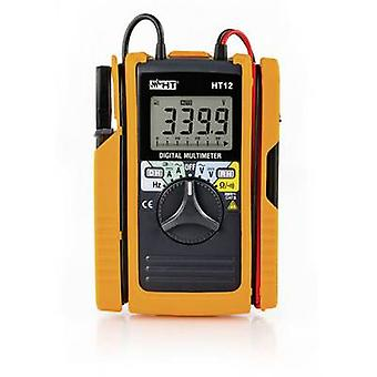 HT Instruments HT12 Handheld multimeter, Clamp meter Digital CAT II 600 V, CAT III 300 V Display (counts): 3400