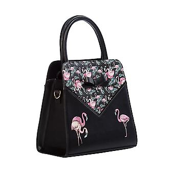 Banned Deluxe Flamingo Handbag