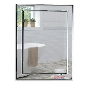 Specchio a parete rettangolare 70 x 50 cm