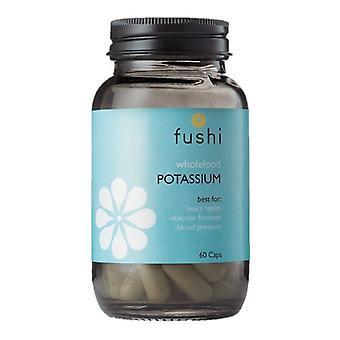 Fushi Välbefinnande Hela livsmedel Kalium Veg Caps 60 (F0021204)