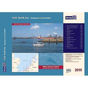 Imray 2120 Chart Atlas 2019 - Nieuwpoort to Den Helder by Imray - 9781