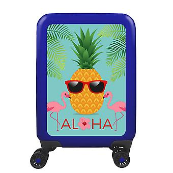 myTrolley Aloha S, 4 wheels, 55 cm, 32 L, blue
