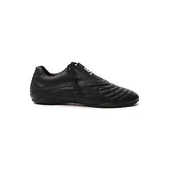 Balenciaga 617540w2cg11002 Herren's Schwarze Leder Sneakers