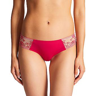Aubade PF26 Women's Fleur De Passion Floral Embroidered Knicker Panty Tanga