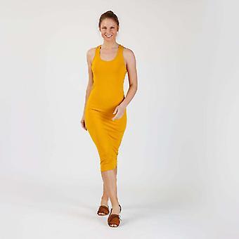 Maxi Dress Genebra Mostarda