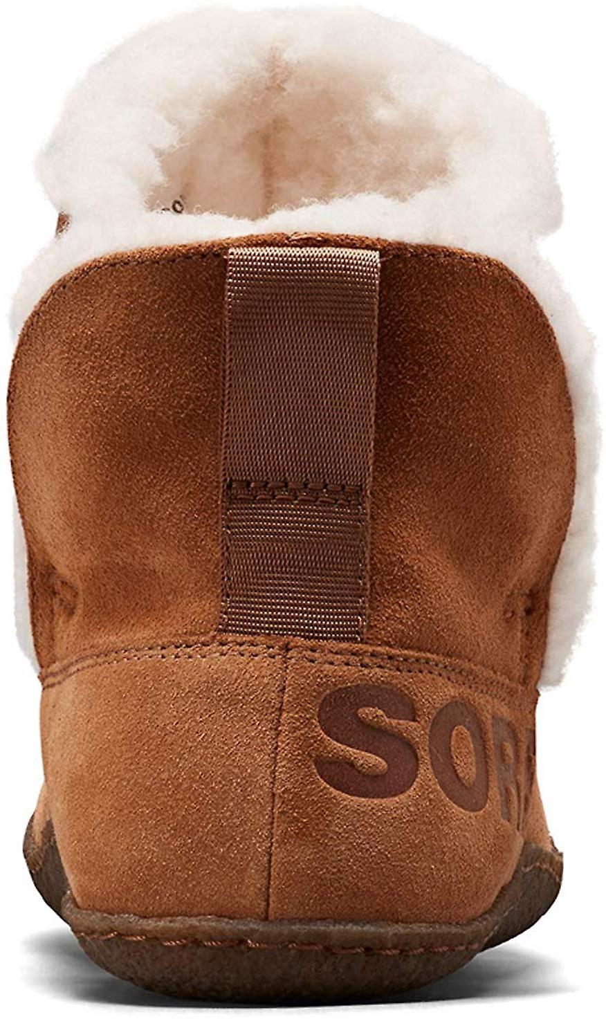 Sorel Women's Shoes Nakiska Faux Fur Closed Toe Pull On Slippers zwfIE
