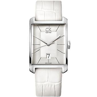 Calvin Klein K2M21120 Window Silver Dial Ladies Watch