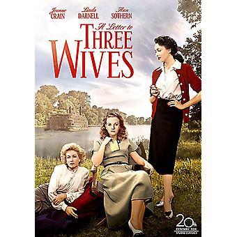 Lettera di importazione USA tre mogli [DVD]