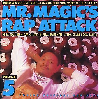 Mr. Magic's Rap Attack - Vol. 5-Mr. Magic's Rap Attack [CD] USA import