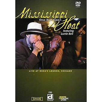Mississippi Heat - One Eye Open-Live at importation USA salon Chicago [DVD] de Rosa