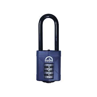 Henry Squire CP50/2.5 Extra 63.5mm Long Shackle Combination Padlock 50mm