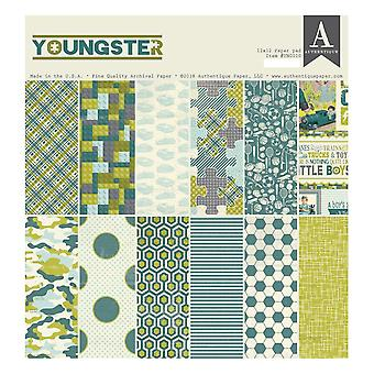 Authentique Youngster 12x12 Inch Paper Pad