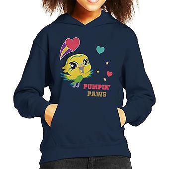 Littlest Pet Shop Edie Pumpin Paws Kid's Hooded Sweatshirt