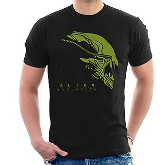 Alien eristäminen Xenomorph Head Miesten ' s T-paita