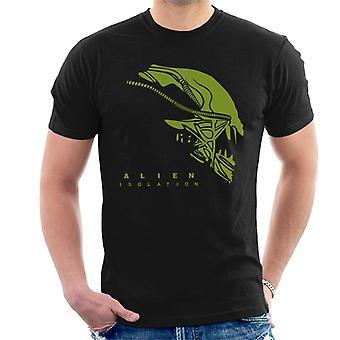 Alien isolering Xenomorph Head män ' s T-shirt