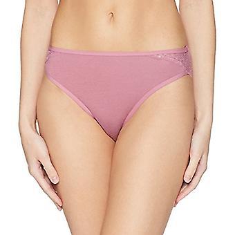 Marke - Arabella Frauen's Plus Größe glatte Baumwolle hohe Bein Spitze Detail ...