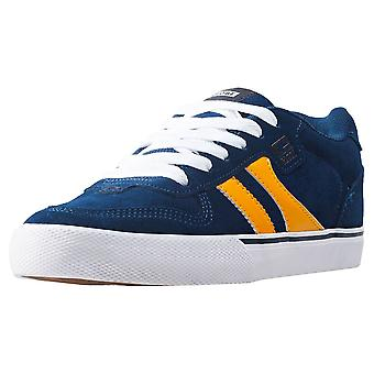 Globe Encore 2 Mens Skate Trainers in Navy Yellow