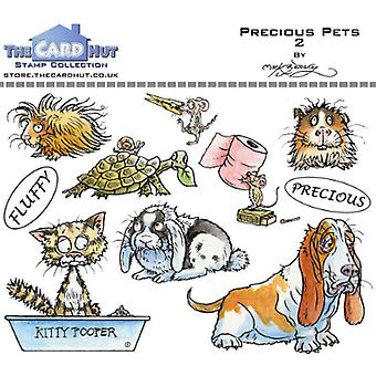 The Card Hut Precious Pets 2 Clear Stamps