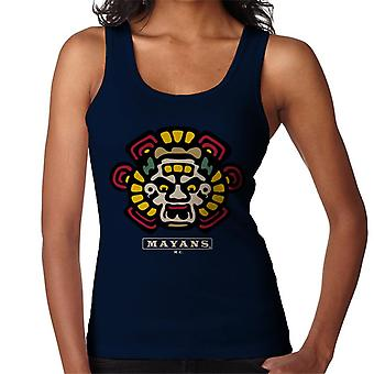 Mayans M.C. Motorcycle Club Face Colour Logo Emblem Women's Vest