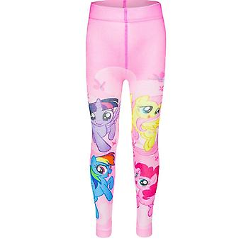 My little pony girls leggings pink fuchsia