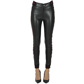 Ermanno Scervino Ezgl078063 Mujeres's Pantalones de Nylon Negro