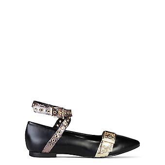 Feito em italia antonella mulheres 's sapatos planos de couro