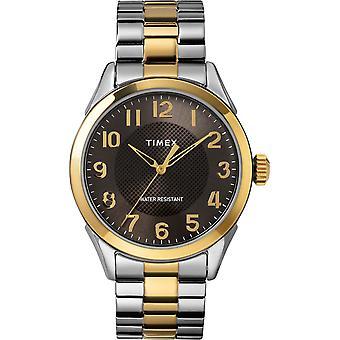 TW2T45900, Main Street Timex Style Herrenuhr / Schwarz