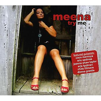 Meena - Try Me [CD] USA import