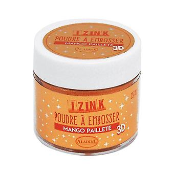 Aladine Preging Pulver 25 ml Mango Paillete
