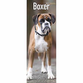 Otter House 2021 Slim Calendar-boxer