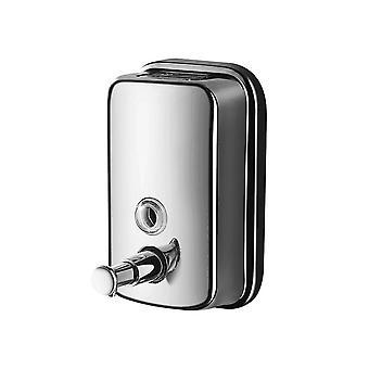 Stainless Steel Manual Soap Dispenser 500ml Capacity