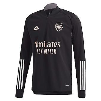 2020-2021 Arsenal EU Training Top (fekete)