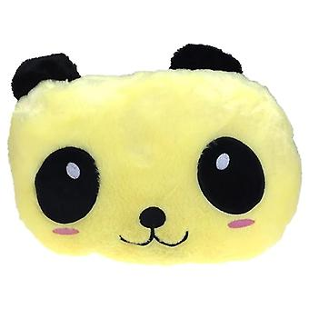 Brilhante Panda Dog Pig Pillow Cute Led Light Up Cartoon Pelúcia Brinquedos recheados,