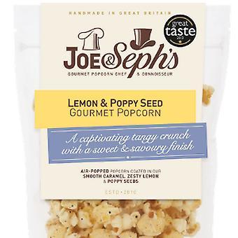 Lemon & Poppy Seed Popcorn