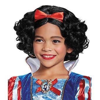 Snow White Deluxe Disney Princess Fairy Tale Book Week Girls Costume Wig