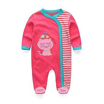 Vastasyntyneet sleepwear vauvanvaatteet Sarjakuva Huopa - Vauva Pitkähihainen Vauva