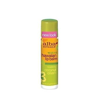 Alba Botanica Hawaiian Lip Balm, Coconut Cream 0.15 oz