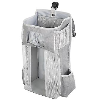 Hordozható Baby Ágynemű Ruha Tároló Rack, Bölcső Újszülött Kiságy Ágy Függő Táska-