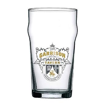 Peaky Blinders Pint Glass Garrison Tavern Logo new Official Boxed